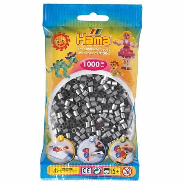 Hama bag of 1000 - Silver