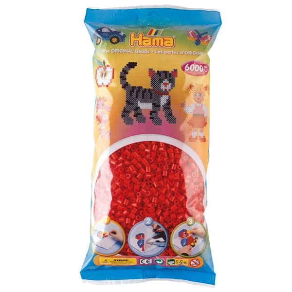 Hama bag of 6000 - Red
