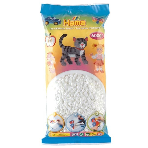 Hama bag of 6000 - White