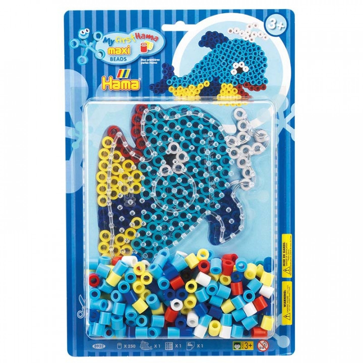 Hama Beads Whale Maxi Starter Pack