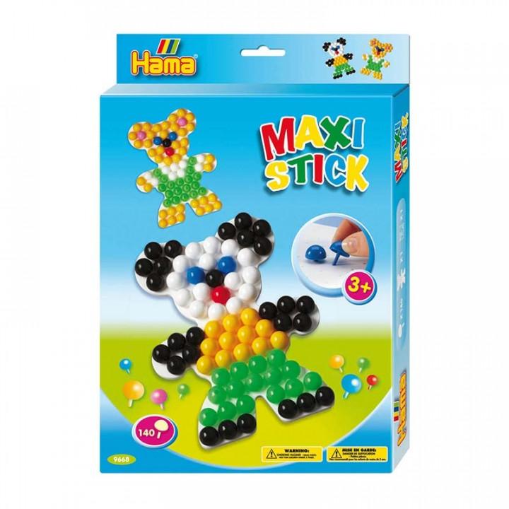 Hama Beads Maxi Sticks Box - Teddy Bear