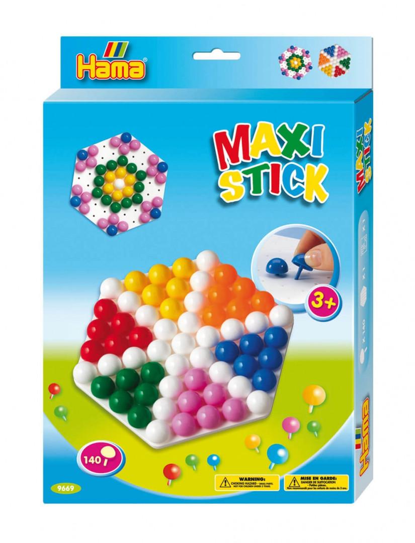 Hama Beads Maxi Sticks Box - Hexagonal