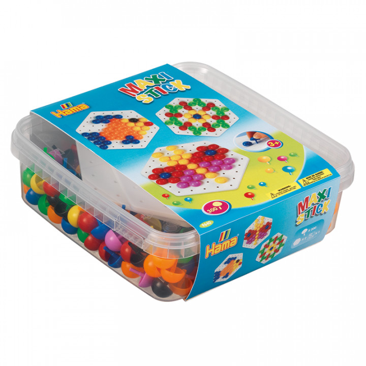 Hama Beads Maxi Sticks/Pegs in Box
