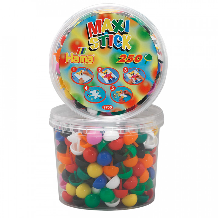 Hama Beads Maxi Sticks/Pegs in Tub