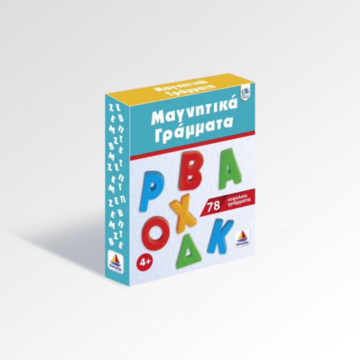 Magnetic Greek Letters Capitals 78pcs