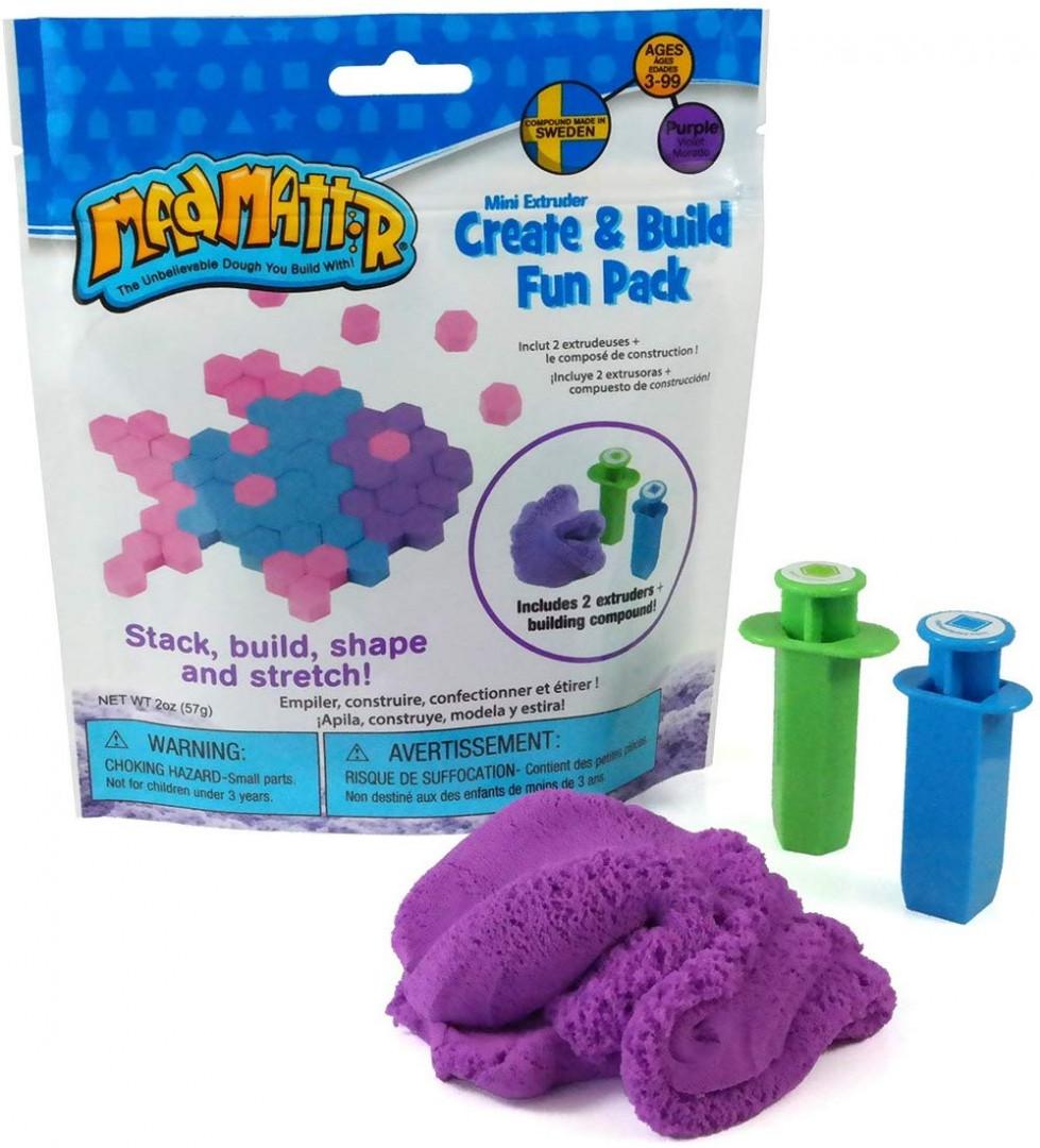 Mad Mattr Create & Build Fun Pack 57gr - Purple