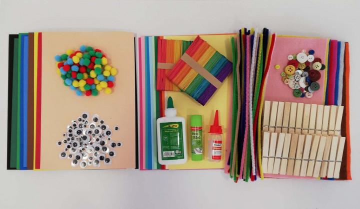 Set of Handicraft Materials