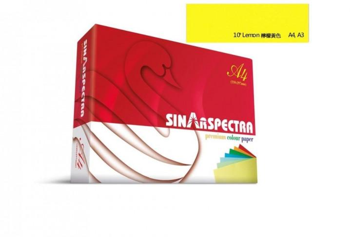 Card Sheets 160gr  A4  250pcs - Lemon