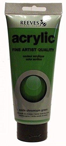 Acrylic Paint 200ml - Oxide Chromium Green - Reeves
