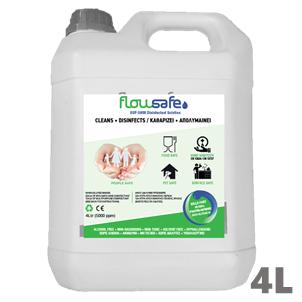 FlowSafe® OSP5000 4 Λίτρα Απολυμαντικό Αδιάλυτο Παρασκευάζει έως 204 λίτρα έτοιμο προς χρήση διάλυμα - 4L