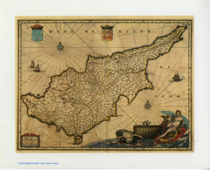 Cyprus Insula  - 24.3x30cm