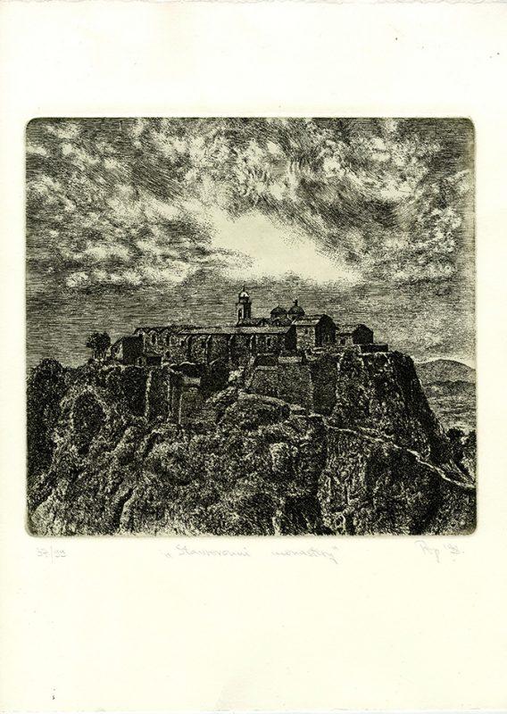 Stavrovouni Monastery - 25.5x26cm