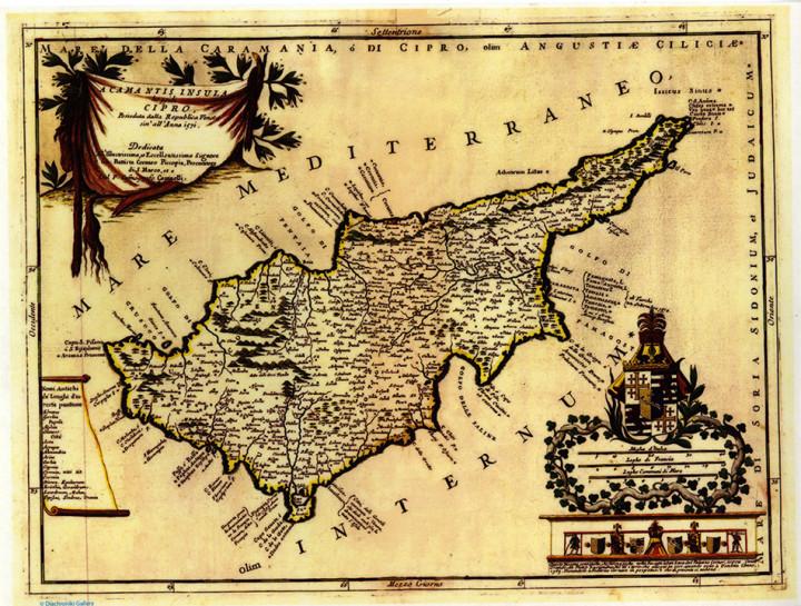 Acamantis Insula Cipro  - 24.6x32.3cm