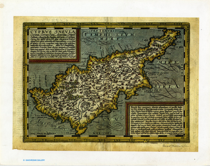 Cyprus Insula  - 24.3x30.6cm