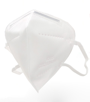 KN95 FFP2 5-LAYERS FACE MASK (BOX OF 20) - WHITE