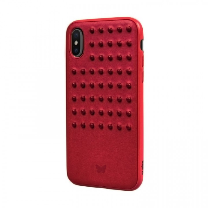 SBS Smart & Ladies Cover for iPhone X/Xs - Red