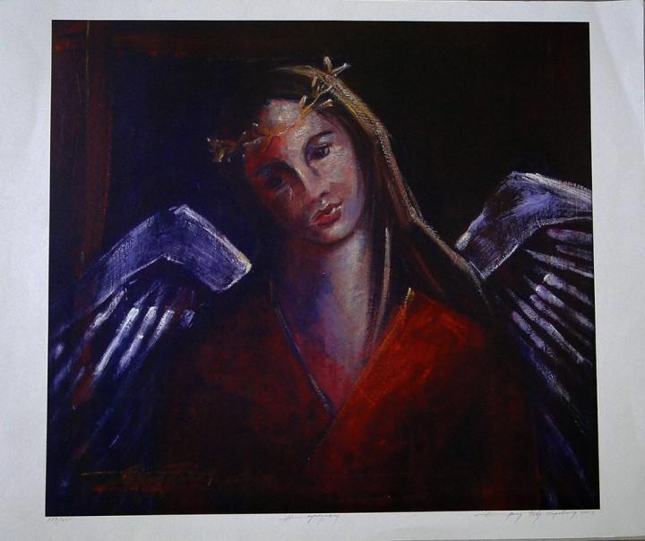 Angel 2 - 49.5x60cm