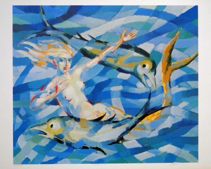 Pisces - 34.6x43.3cm