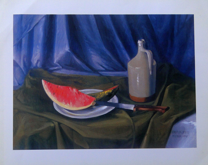 Watermelon - 42,5x54cm