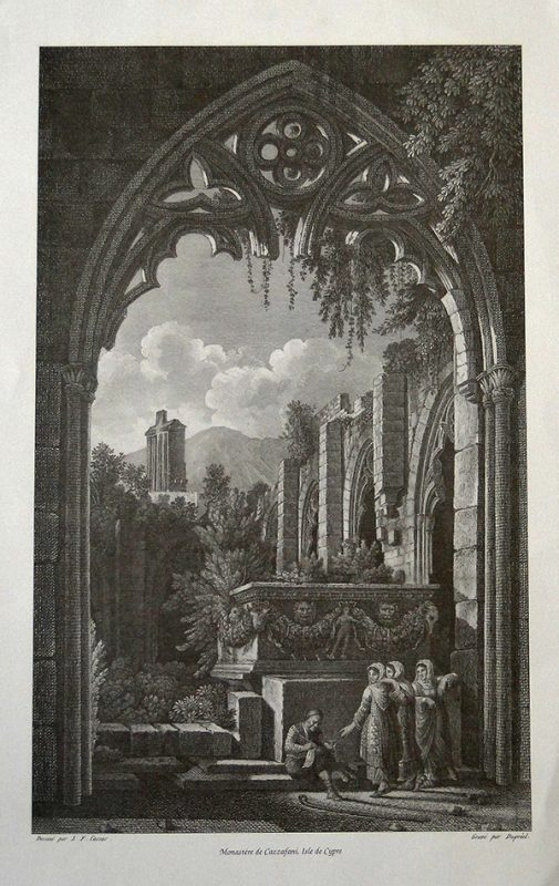 Monaster de Cazzafani - 42.8x27.3cm