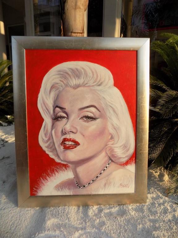 Portrait of Marilyn - 80x60cm