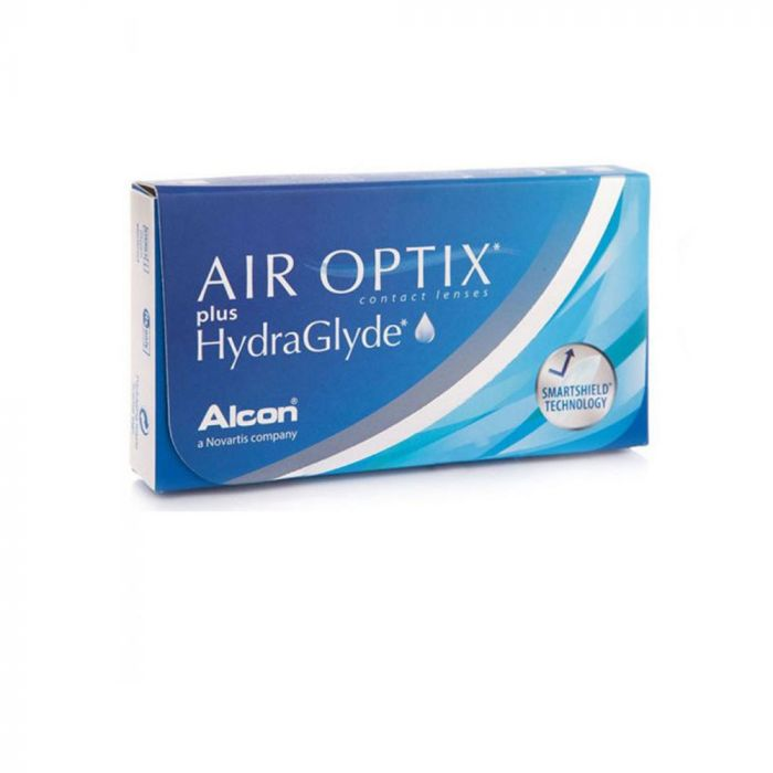 Air Optix Plus HydraGlyde 6 Monthly Contact Lenses - 1.75
