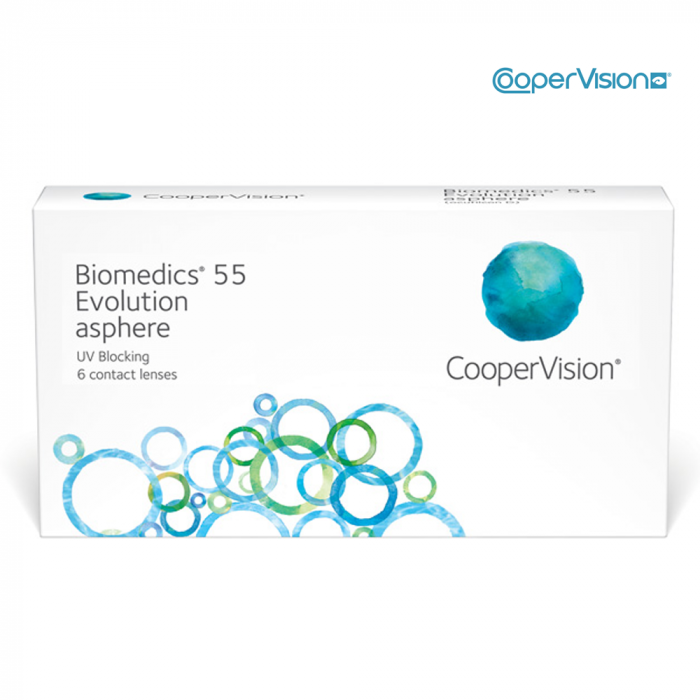 Biomedics 55 Evolution 6 Monthly Contact Lenses - 5.5