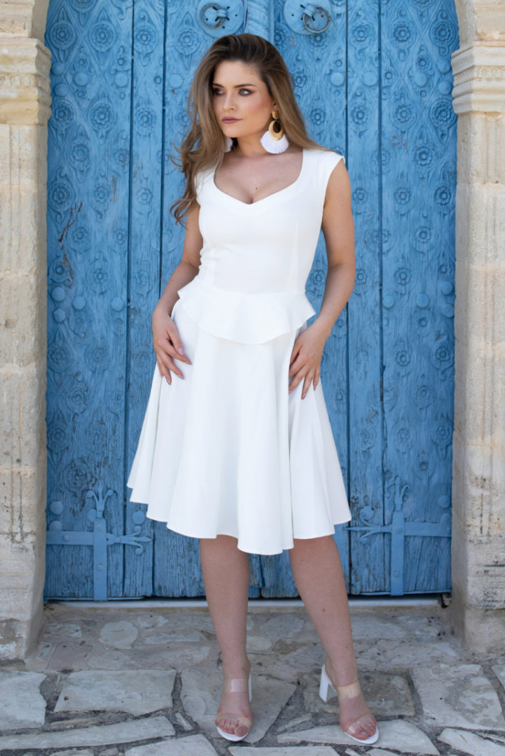Mini Skirt - White - Medium