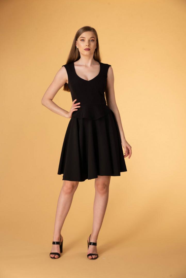 Mini Skirt - Black - Large