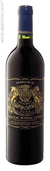 CHATEAU PONTAC LYNCH, MARGAUX A.C.C. BOURGEOIS 2014 - RED