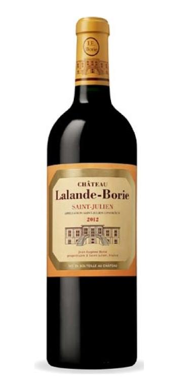 CHATEAU LALANDE-BORIE, ST JULIEN 2012 - RED