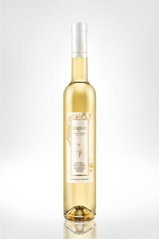 GIANNIKOS, LATE HARVEST VIOGNIER  - WHITE DESERT WINE