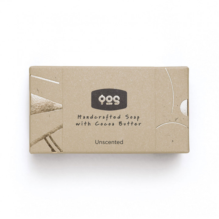 Handcrafted Soap with Cocoa Butter - Unscented