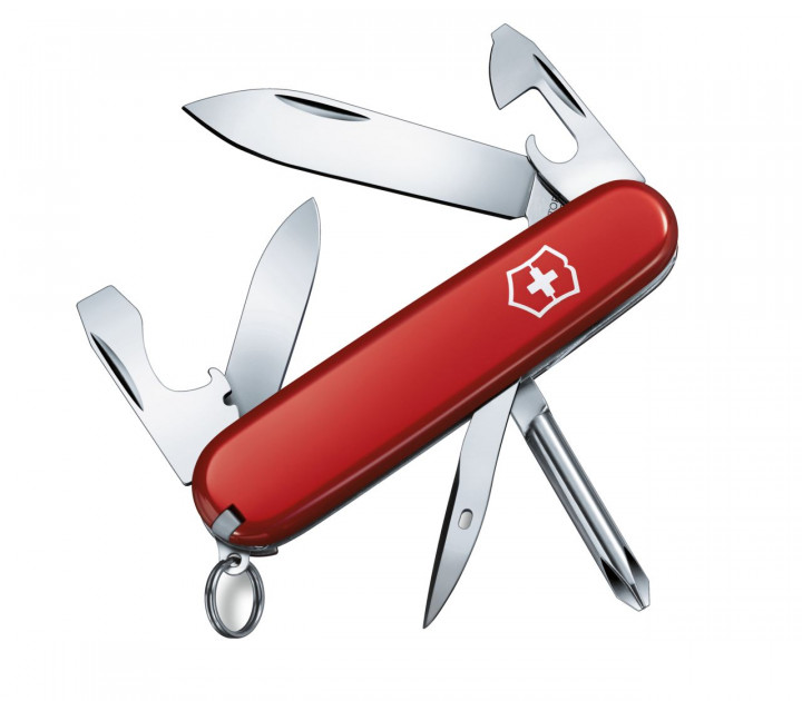 SWISS ARMY KNIFE 84mm TINKER SMALL  RED