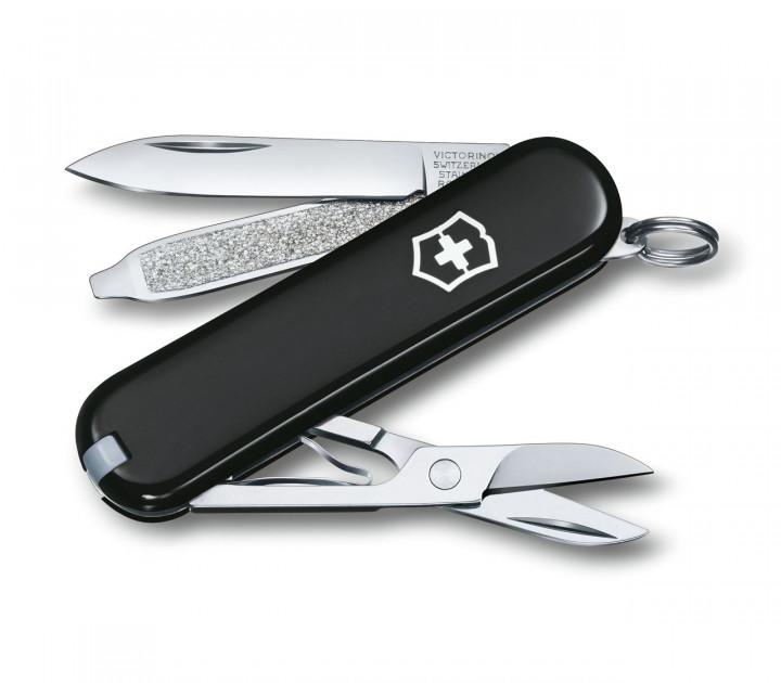 SWISS ARMY KNIFE 58mm CLASSIC SD BLACK