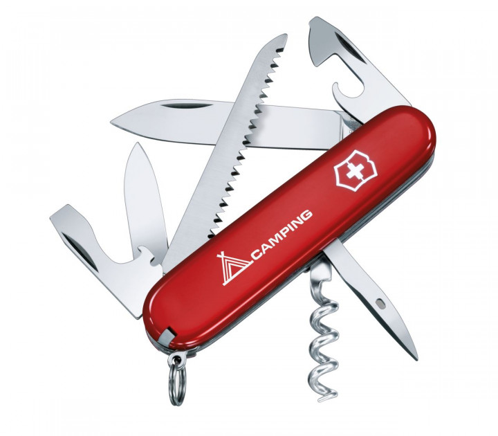 SWISS ARMY KNIFE 91mm CAMPING RED