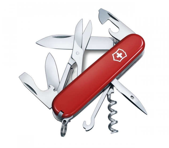 SWISS ARMY KNIFE 91mm CLIMBER RED