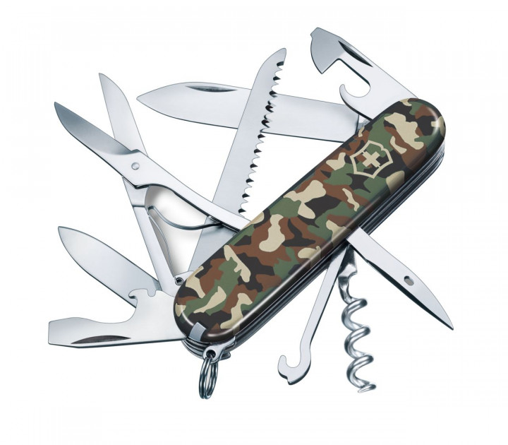 SWISS ARMY KNIFE 91mm HUNTSMAN CAMOUFLAGE