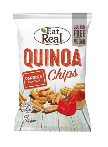EAT REAL QUINOA CHIPS PAPRIKA 30G