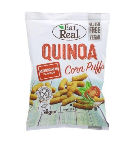 EAT REAL QUINOA PUFFS MEDITERRANEAN 40G