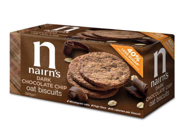 NAIRNS, OAT BISCUITS DARK CHOCO CHIP 200G