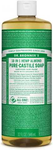 DR BRONNERS 18 IN 1 HEMP ALMOND SOAP 946ML