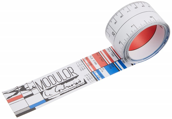 Le Corbusier Modulor Rule: An Innovative Tape Measure from the Master of Modern Architecture