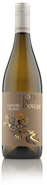 Cote du Danube BLANC 2017 - White - 750 ml