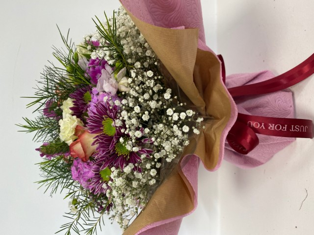 Bouquet with fresh flowers