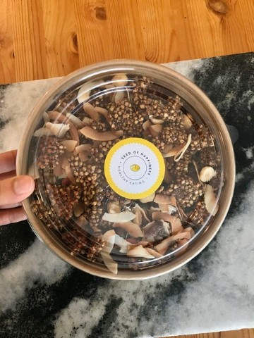 Crunchy Cinnamon Buckwheat Granola
