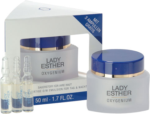 Oxygenium Cream 50 ml with 3 FREE Ampoules