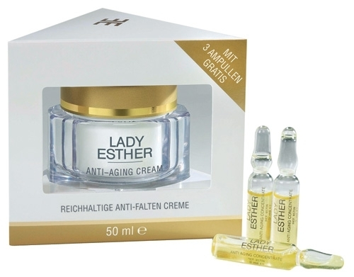 Anti-Aging Cream 50 ml with 3 FREE ampoules