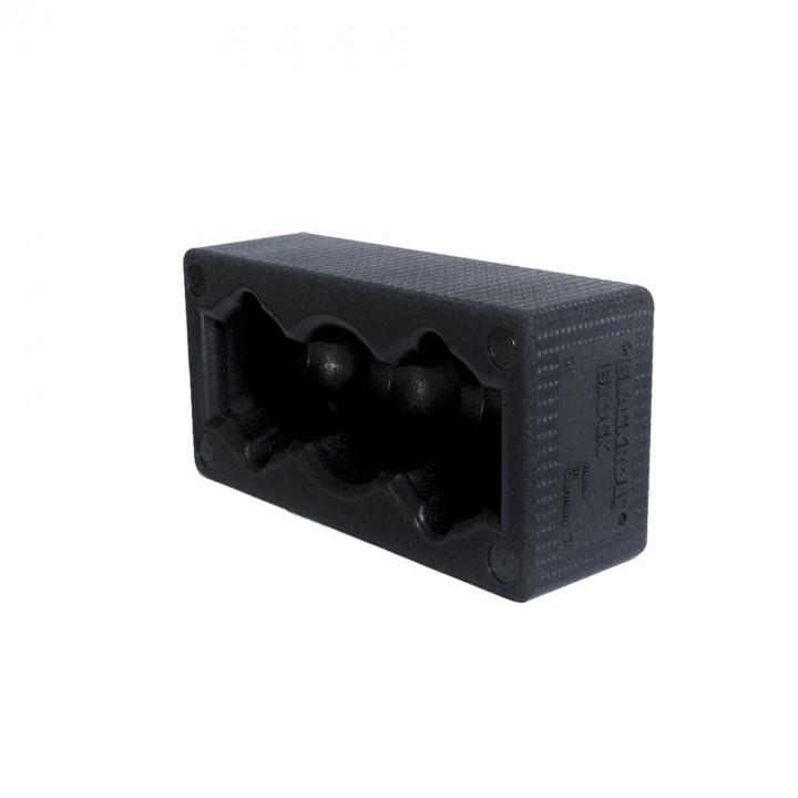 BLACKROLL Block  - Black