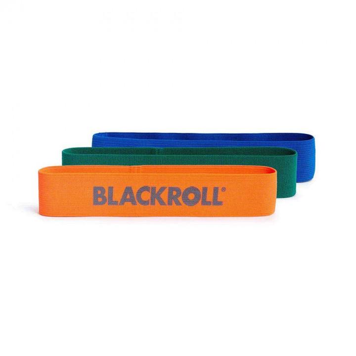 BLACKROLL Loop Band Set of 3  - Orange, Blue, Green